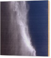Celestial Falls Wood Print