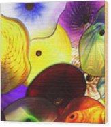 Celestial Glass 1 Wood Print