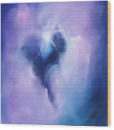 Celestial Heart Wood Print