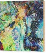 Celestial Xvi Wood Print