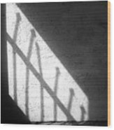 Cellbar Shadows Wood Print