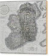 Celtic Castle Wood Print