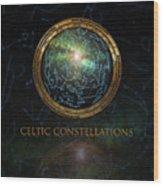 Celtic Constellation Wood Print