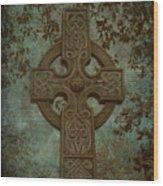 Celtic Cross 2 Wood Print