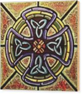 Celtic Cross 2 Wood Print