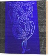 Celtic Design Wood Print