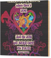 Celtic Eclipse Of The Heart Wood Print