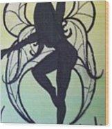 Celtic Fairy Wood Print
