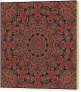 Celtic Key Tile  Wood Print