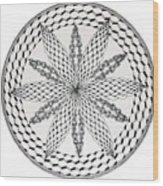 Celtic Knot Mandala Wood Print