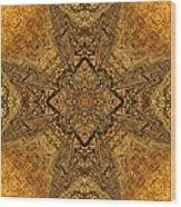 Celtic Mandala Abstract Wood Print