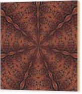 Celtic Ribbons Tile K7-2 Bronze Wood Print