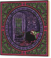 Celtic Sleeping Beauty Part II The Wound Wood Print