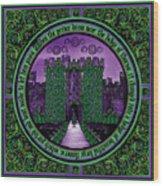 Celtic Sleeping Beauty Part IIi The Journey Wood Print