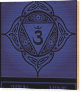 Celtic Tribal Third Eye Chakra Wood Print