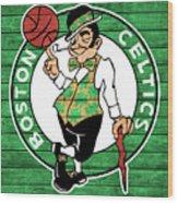 Celtics Barn Door Wood Print