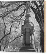 Cemetery 1 Wood Print