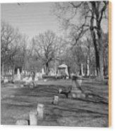 Cemetery 7 Wood Print