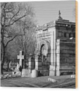Cemetery 8 Wood Print