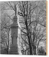 Cemetery 9 Wood Print