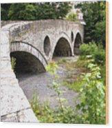Cenarth Bridge Wood Print