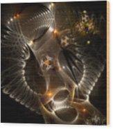 Cenogenesis Wood Print