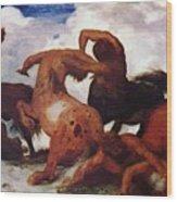 Centaurs 1873 Wood Print