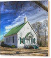 Centennial Christian Church Est 1909 Wood Print