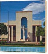 Centennial Hall At Fair Park - Dallas Wood Print