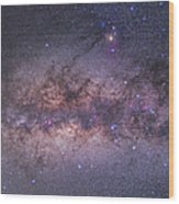Center Of The Milky Way Wood Print