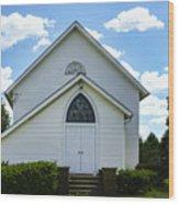 Center Ridge Presbyterian Church Wood Print