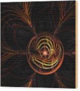 Center Star Wood Print