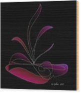 Centerpiece 4 Wood Print