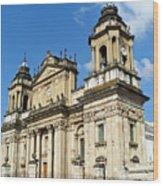 Central Church Guatemala City 1 Wood Print