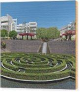 Central Garden Wood Print