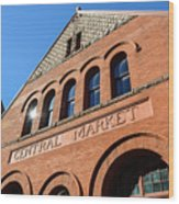 Central Market Lancaster Pennsylvania Wood Print