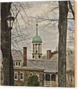 Central Moravian Church - Bethlehem Wood Print