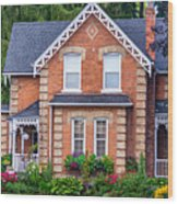 Century Home Wood Print
