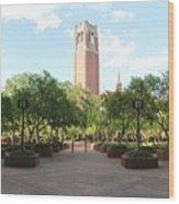 Century Tower Wood Print