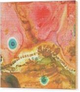 Cephalopod Wood Print
