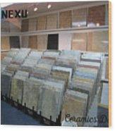 Ceramic Dealers Wood Print