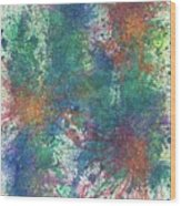 Cerebral Rhapsody During A Neurofeedback #581 Wood Print
