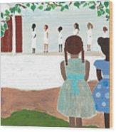 Ceremony In Sisterhood Wood Print