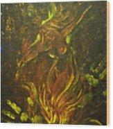 Cerridwen Dances Wood Print