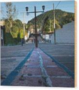 Cerro De Las 3 Cruces - Apaneca 4 Wood Print