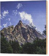 Cerro Fitz Roy 3 Wood Print