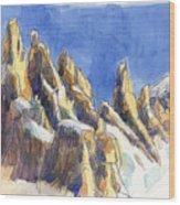 Cerro Torre, Patagonia Wood Print