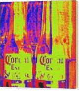Cerveza Por Dos  Wood Print
