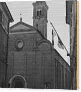 Cesena - Italy - The Cathedral 3 Wood Print