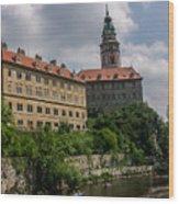 Cesky Krumlov Castle Wood Print